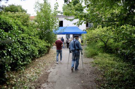 Participácia na Parkovej ulici - príchod obyvateľov