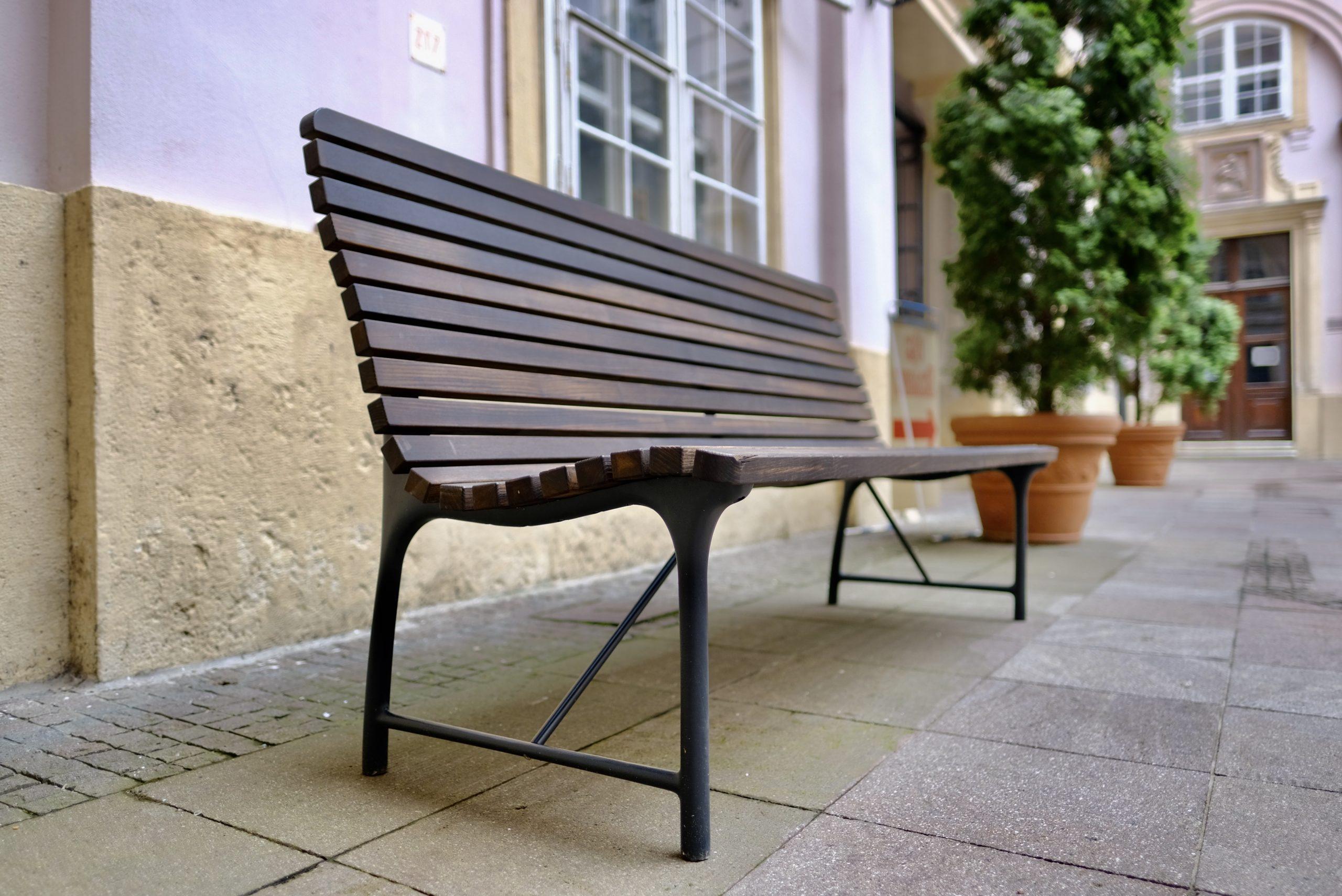 Nová bratislavská lavička