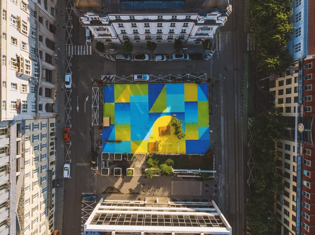 komenského fotka z vtáčej perspektívy