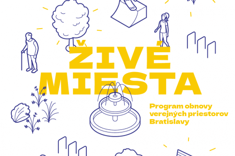 Živé miesta - Program obnovy verejných priestorov Bratislavy